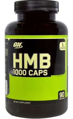 hmb optimum nutrition 1000 mg 90 cps - importado eua