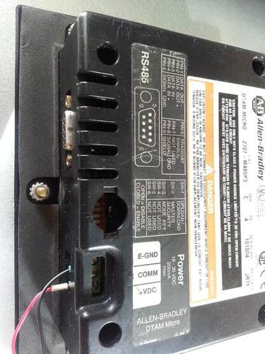 Allen Industries: Hmi Dtam Micro 2707-m485p3 Para Plc Allen Power Industrial