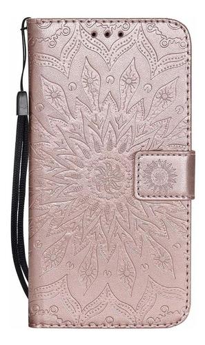 hmtechus iphone xs max - case de 6.5 pulgadas flor de sun en