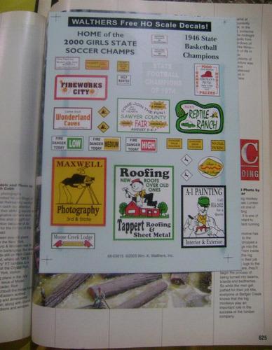 ho 20044 model railroad reference book vbf