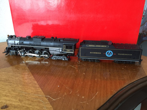 ho rivarossi locomotora berkshire 2-8-4 richmond washington