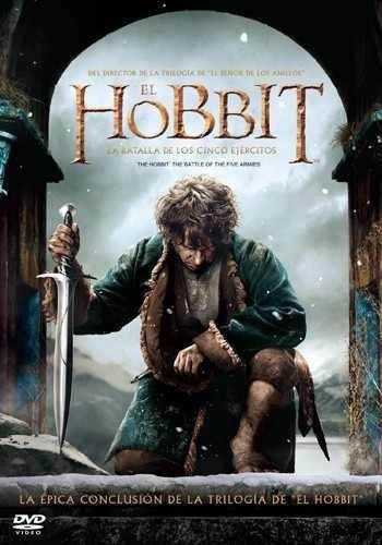 hobbit batalla de los cinco ejercitos dvd nueva sellada