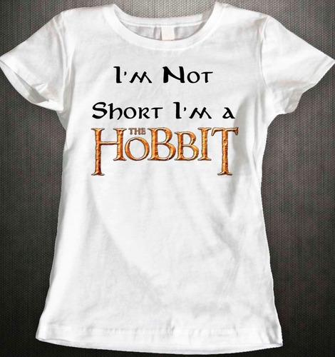 hobbit  i´m not a short i´m a hobbit rott wear envío gratis