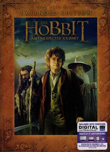 hobbit un viaje inesperado extendida importada pelicula dvd