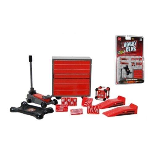 hobby gear backyard mechanic serie 1 124 escala