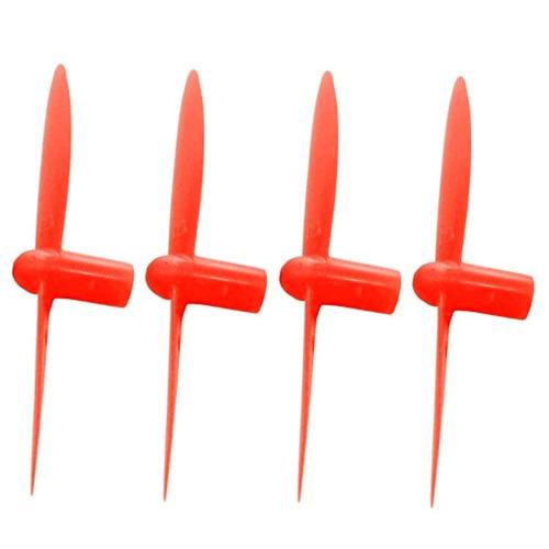 hobbyflip red black and white 30mm propellers