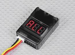 hobbyking 2-8s checker celular com alarme de baixa tensão