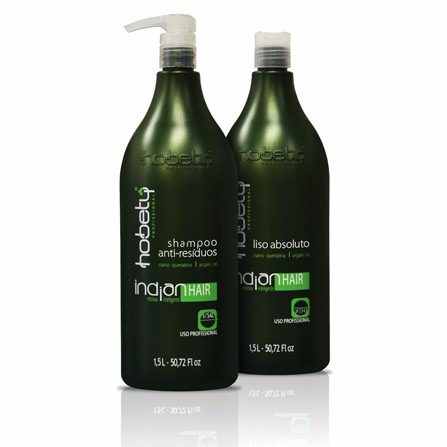 hobety progressiva indian hair 1,5 litros. passo 2