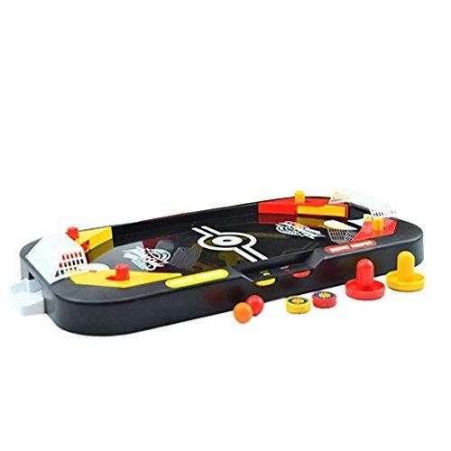 Hobull Tabletop 2 1 Hockey Juego De Futbol Mini Arcade Esti