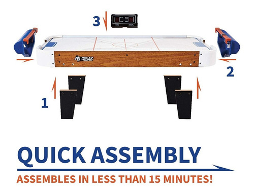 hockey de mesa | entretenimiento para todos | madera