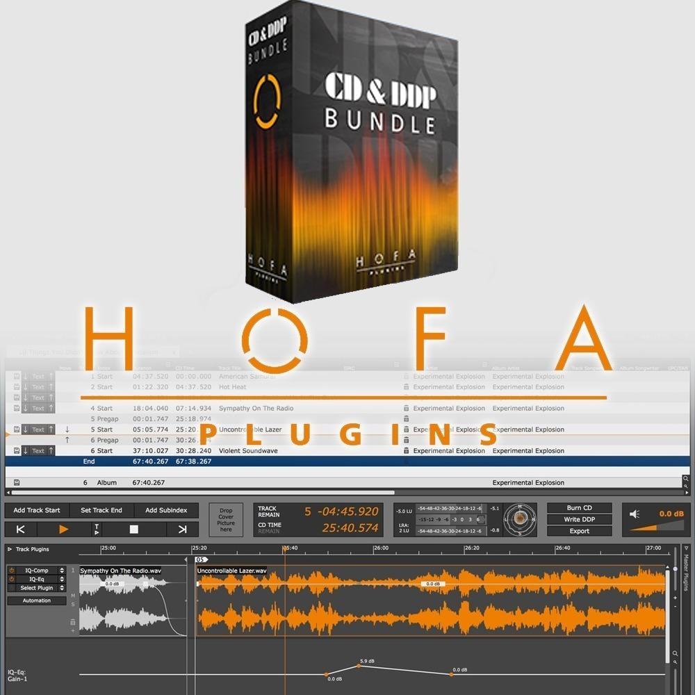 Hofa-plugins Hofa Cd-burn Ddp Master 2 Win Online