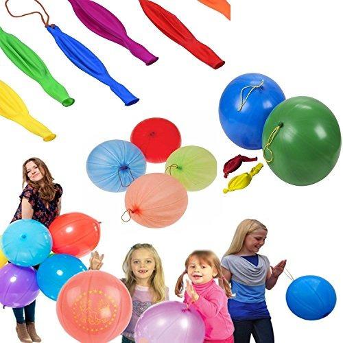 hofire globos de neón con asas de goma 30 unidades 180 en v