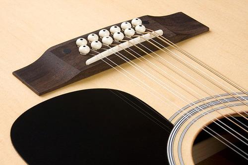hofma he215e12 violão folk 12 c aço el natural  frete grátis