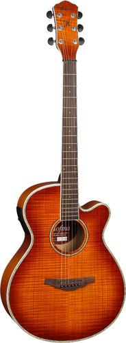 hofma hm236 violão aço cap hofma yellow burst - frete grátis
