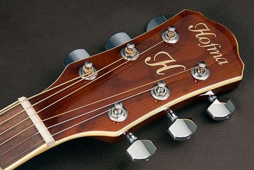 hofma hm239 violão aço cap hofma trans sunburst frete grátis