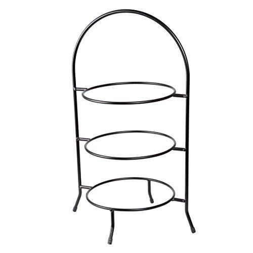 hogar creativo  de 3 niveles de la placa de cena del estant
