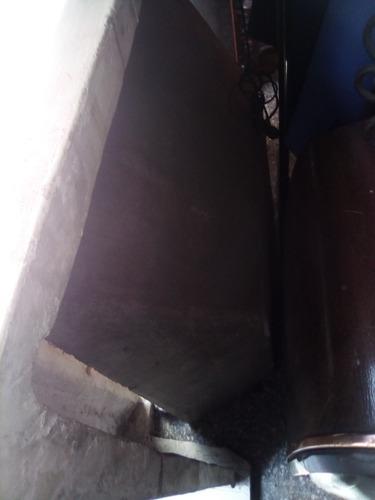 hogar de cemento a gas