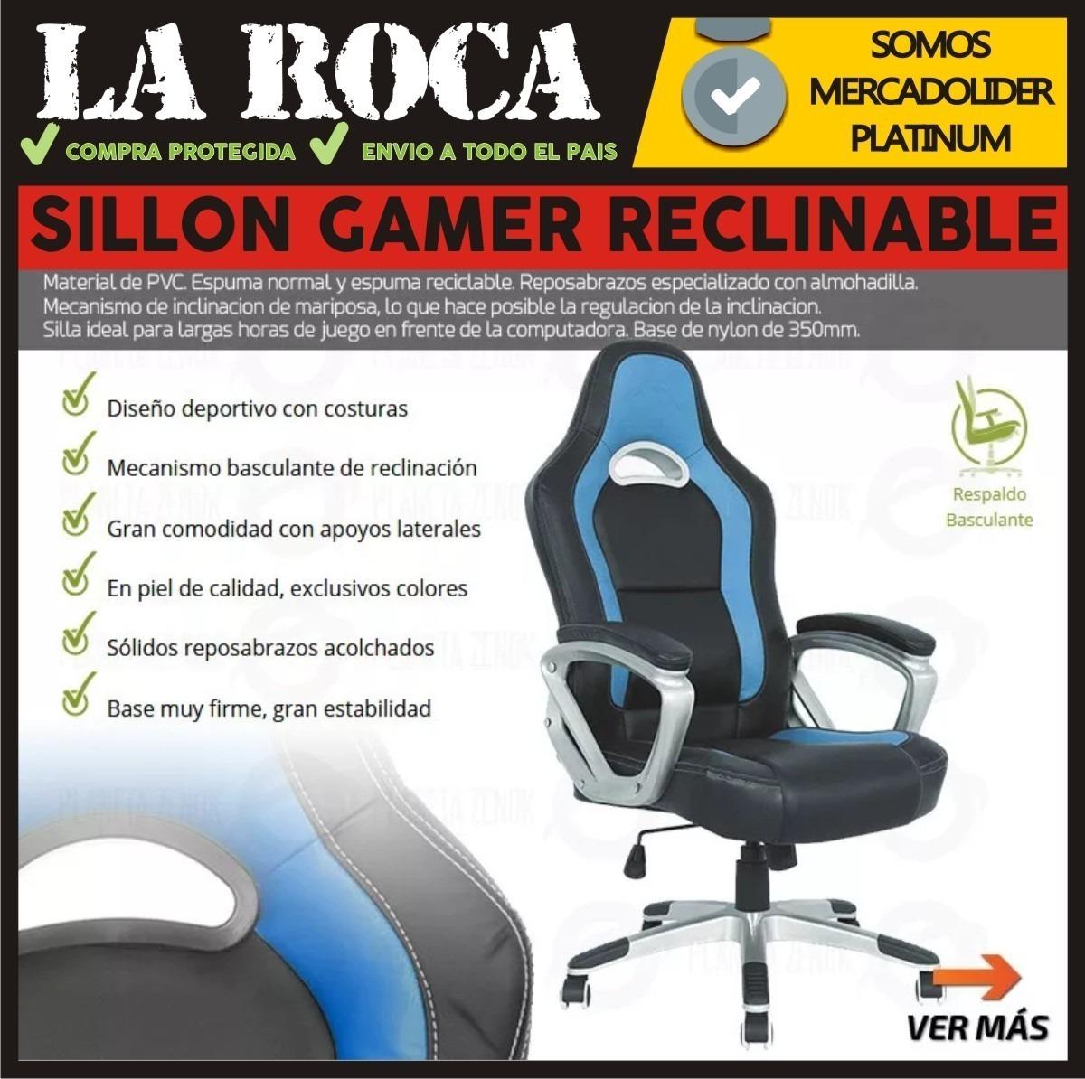 0onpkwx8 Hogar Oficina10 Gamer Silla Butaca Reclinable Pro Sillon 616 5Lq4jRA3
