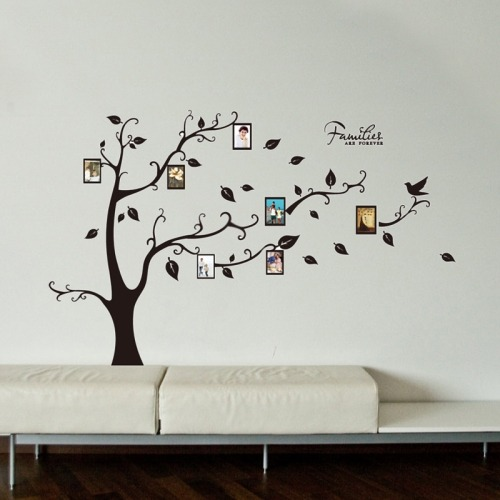 Hogar Pegatina Pared Home Decor Tree Pattern Photo Frame - $ 364.00 ...