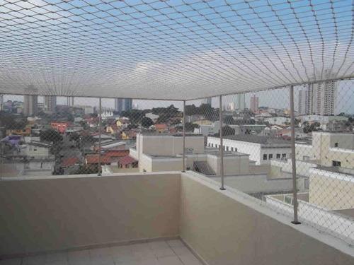 hogar seguridad. redes red para balcon