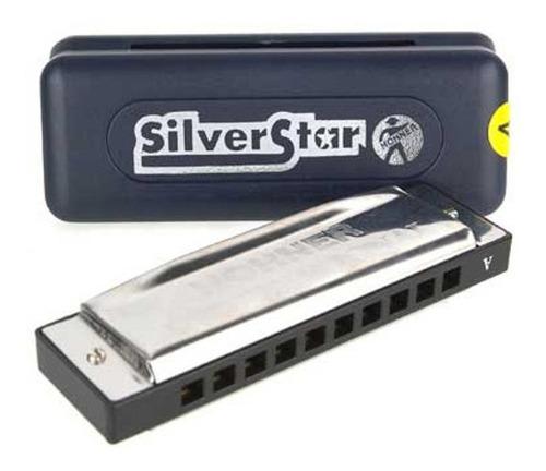 hohner armónica silver star (do blues)
