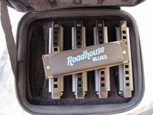 hohner roadhouse set 5 armonicas nuevas envio gratis