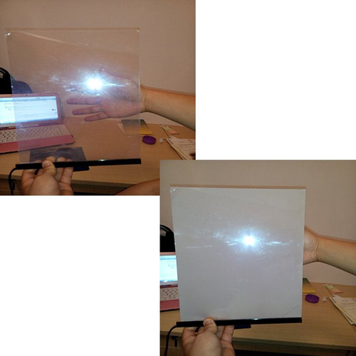 hoho película inteligente pdlc electrónica a4 muestra pel