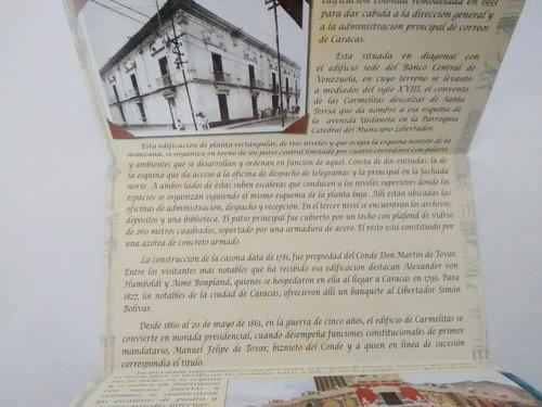 hoja bloque estampilla de venezuela (edificio carmelitas)
