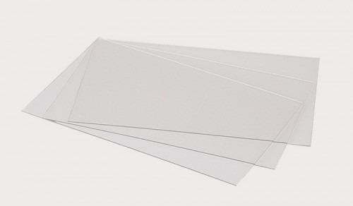 hoja de acetato transparente 50x70 film pvc lamina