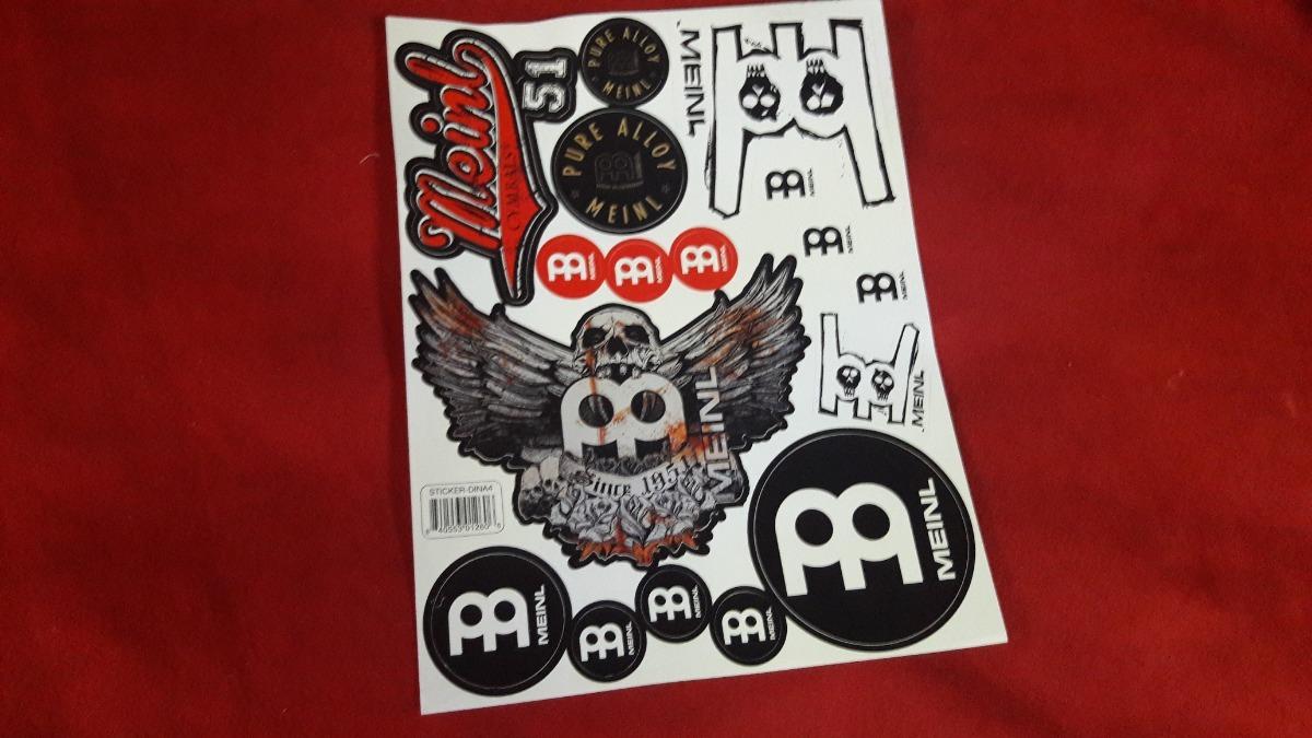 Meinl STICKER-DINA4 Cymbal Sticker Sheet A4