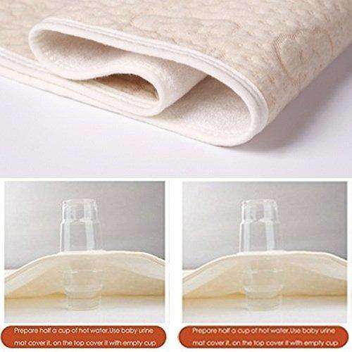 hoja de cuna pads protector de colchón impermeable para b