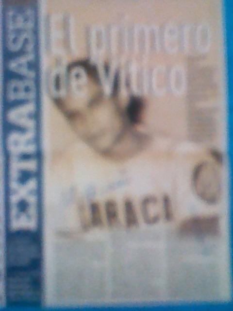 9231de795c Hoja De Periodico Autografiada Por Victor Davalillo - Bs. 175.000,00 ...