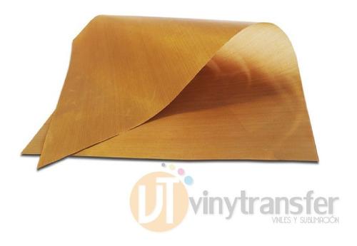 hoja deteflon 60 x 40 cms para planchas transfer-sublimacion