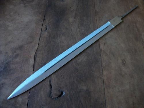 hoja el pampa acero carbono 50 cm - cuchillo- facon