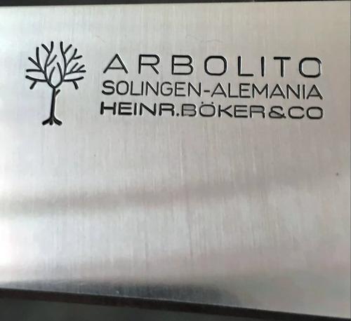 hoja encabar 12cm 5 boker arbolito forjada solingen alemania