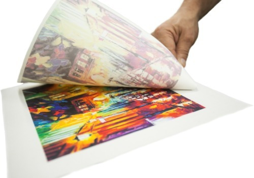 hoja para sublimacion estampar papel tazas cooler 20 u