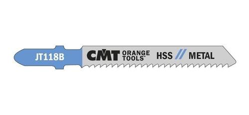 hoja sierra caladora metal espesor medio cmt jt118b-5