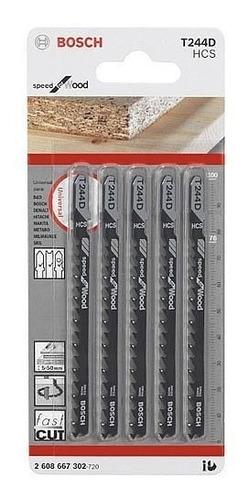 hoja sierra caladora para madera blanda bosch t244d