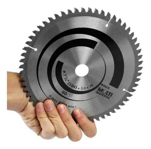 hoja sierra circular 184 mm bosch 60 d para melamina  7 1/4