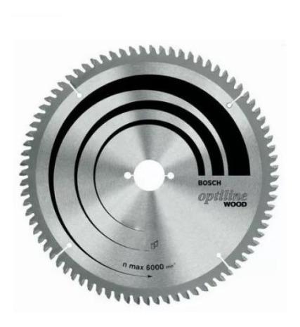 hoja sierra circular bosch para madera 235 mm (9 1/4 ) 60d