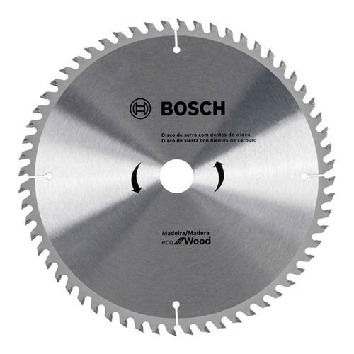 hoja sierra circular para madera bosch 184 mm 7 1/4 pulg 60d