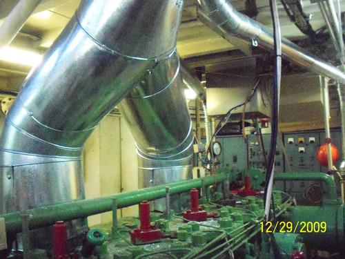 hojalateria ductos campanas aislacion termica
