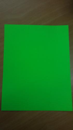 hojas carta autoadhesivas fosforescente  paq. 20 unid