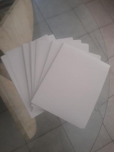 hojas cartas papel auto-adhesivo brillante paq. 15 hojas