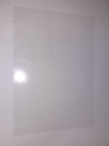 hojas de acetato a4 ( 5 unidades)