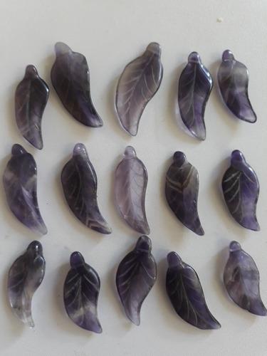 hojas de amatistas legìtimas dijes bisuterìa u orfebrerìa