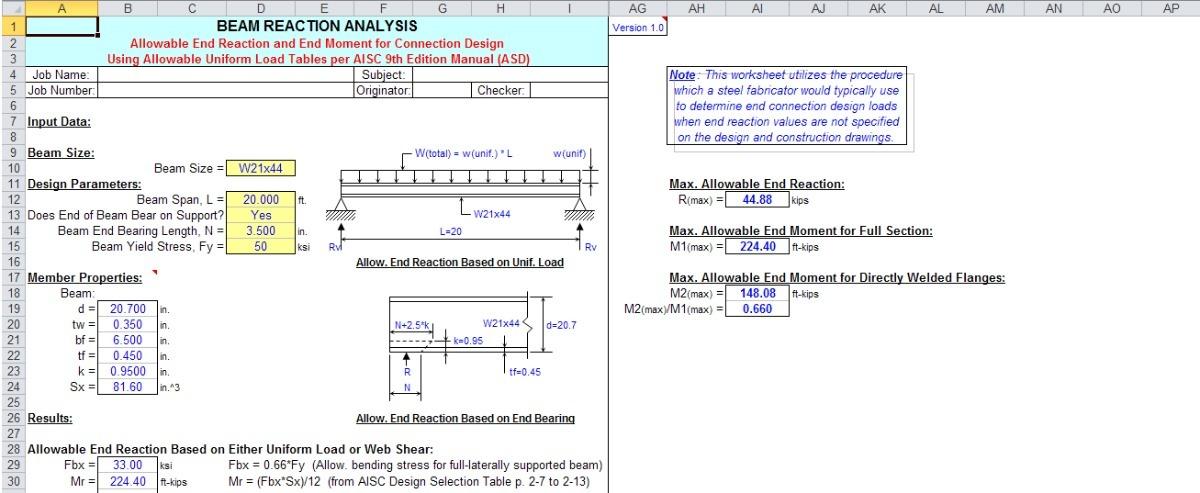 Hojas De Calculo Excel - Construccion Civil - Avanzadas - Bs. 2.300 ...