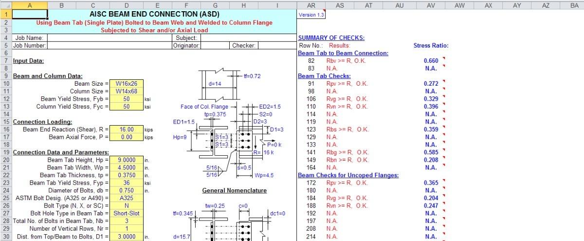 Hojas De Calculo Excel - Construccion Civil - Avanzadas