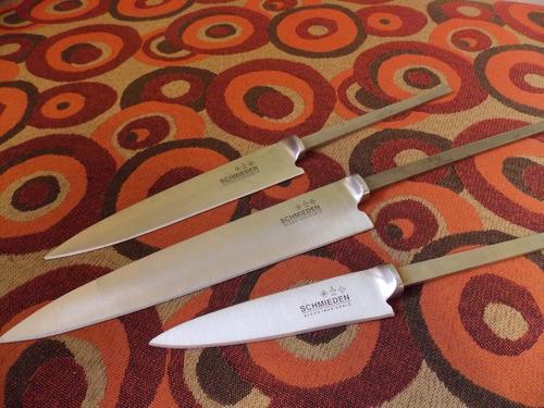 hojas de cuchillo schmieden para encabar acero inox tandil