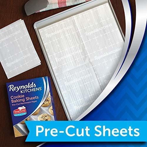 hojas de papel de pergamino para hornear antiadherentes de l